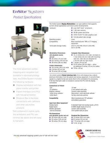 EnSite® System - Medscape