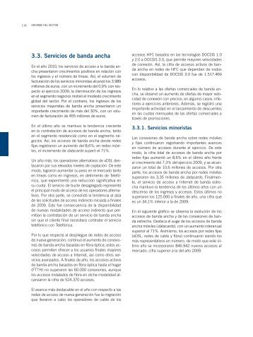 3.3. Servicios de banda ancha - Informe económico sectorial