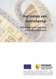 Het meten van vooruitgang: - European Centre for Social Welfare ...