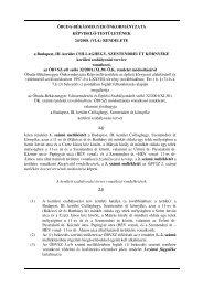 VI.4. - ÓBVSZ | Óbuda-Békásmegyer Városrendezési és Építési ...