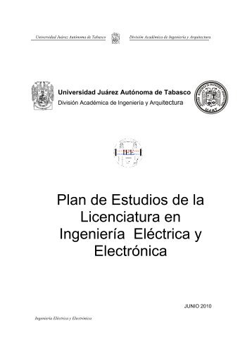 Plan de Estudios de Ingeniería Eléctrica y Electrónica - Universidad ...
