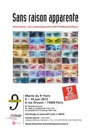 Mairie du 9e Paris 5 > 19 juin 2013 6 rue Drouot # 75009 Paris