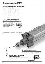 Пневмоцилиндры по ISO СP96 - SMC