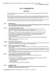 DCE 11 Sonorisation - Commune de Lanrivoaré