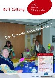Dorf-Zeitung -Mai/Juni 2012 - Theodor Fliedner Stiftung