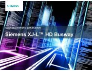 Busway for Data Center - Siemens