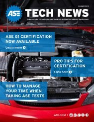 ase g1 certification now available how to manage your time when ...
