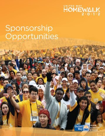 Sponsorship Opportunities - United Way of Greater Los Angeles