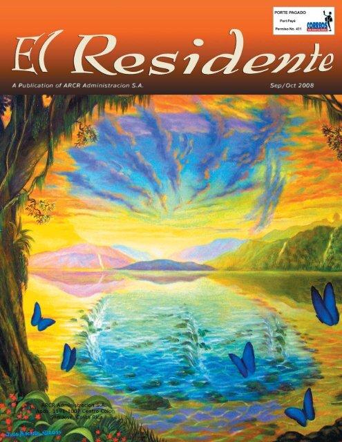 2008 September-October - Association of Residents of Costa Rica