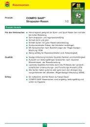 COMPO-SAAT: Strapazierrasen - GARTENSHOP.at