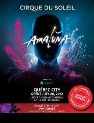 QUÉBEC City - Cirque du Soleil
