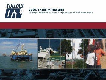 Interims Presentation final (PDF) - Tullow Oil plc