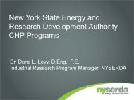 Dr. Dana L. Levy, D.Eng., P.E., Industrial Research Program ...