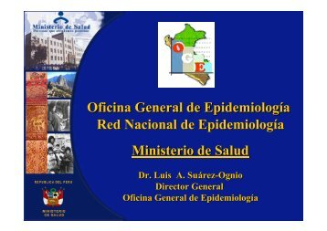 Oficina General de Epidemiología Red Nacional de ... - BVS - INS