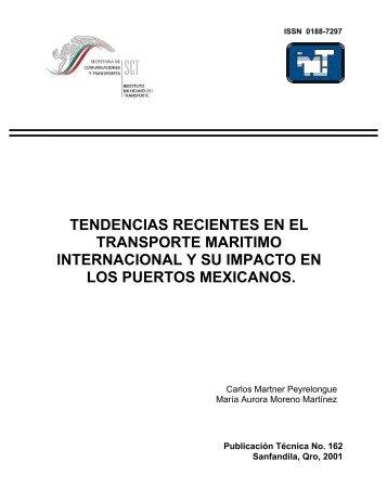 tendencias recientes en el transporte maritimo internacional y su ...