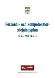 Personal- och kompetensför- sörjningsplan - Vimmerby Kommun