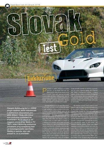 Superšport test: K-1 Attack 3.0 V6 - AutoTuning.sk