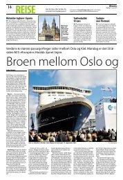 Verdens to største passasjerferger seiler mellom Oslo ... - TVU-INFO