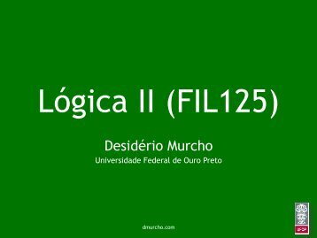 Lição 6 - Desidério Murcho