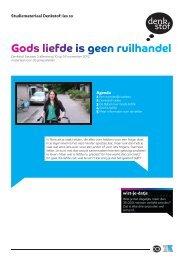 Gods liefde is geen ruilhandel - Evangelische Omroep