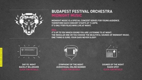BUDAPEST FESTIVAL ORCHESTRA MIDnIgHT ... - Arany Penge