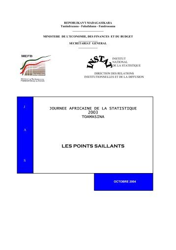 pdf 1 608 ko - Institut national de la statistique malgache (INSTAT)