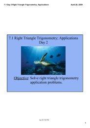 7.1 Day 2 Right Triangle Trigonometry; Applications.pdf
