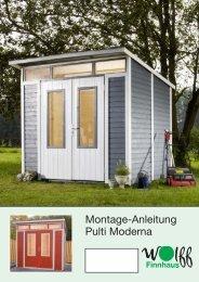 Montage-Anleitung Pulti Moderna - Mein Gartenshop24 Mein ...