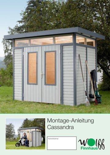 Montage-Anleitung Cassandra - Mein Gartenshop24 Mein ...