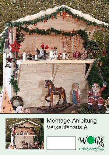 Aufbauanleitung Wolff Finnhaus Verkaufhaus A - Mein ...