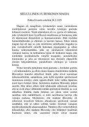SIELULLINEN JA HENKINEN MAGIA - Pekka Ervast