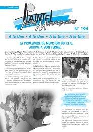 PLAINTEL INFOS 194 DU 29 JANVIER 2006.pdf