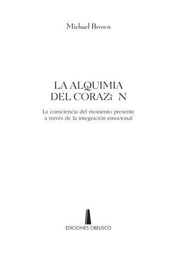 LA ALQUIMIA DEL CORAZî N - Libros y Literatura
