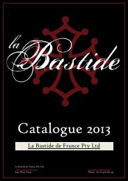 La Bastide de France Pty Ltd