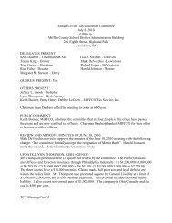 Minutes July 8 2010 - Mifflin County School District