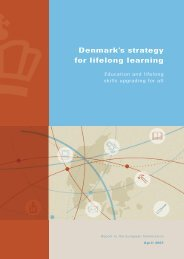 Denmark's strategy for lifelong learning