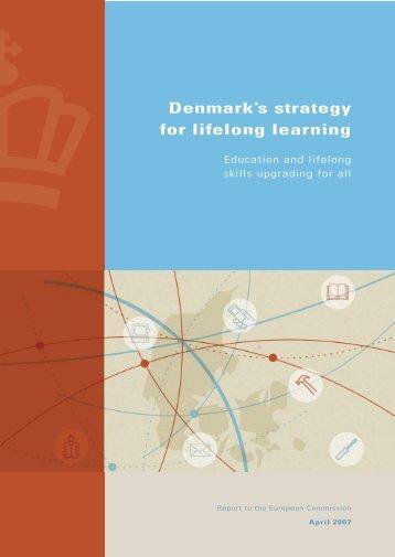 Denmark's strategy for lifelong learning
