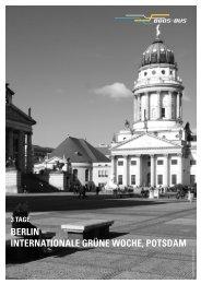 BERLIN – INTERNATIONALE GRÜNE WOCHE, POTSDAM