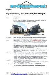 Exposé Eigentumswohnung in  GT-Kattenstroth, Im Kuhkamp 35