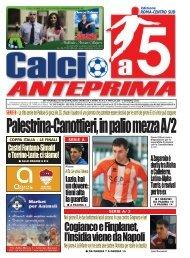 calcio a 5 anteprima 1/11 ROMA