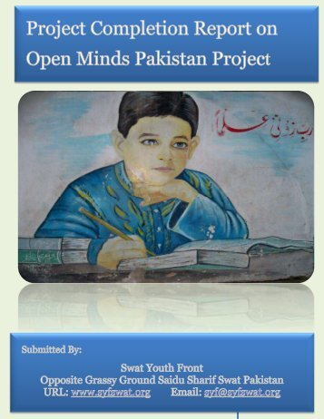Project Completion Report on the Open Minds Pakistan (OMP) Project