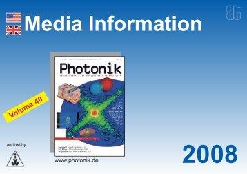 Media Information - AT-Fachverlag GmbH