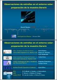 Observaciones de estrellas en el entorno solar - laeff.cab.inta-csic.es