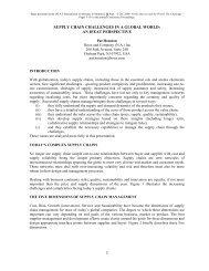 Houston-Supply chain - IFEAT