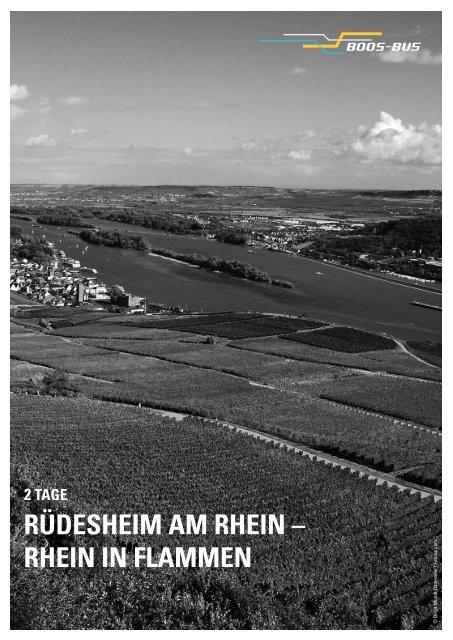 RÜDESHEIM AM RHEIN – RHEIN IN FLAMMEN