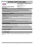 MSDS Start-N-Grow Premium Plant Food (44 KB) - Fertilome - Page 3