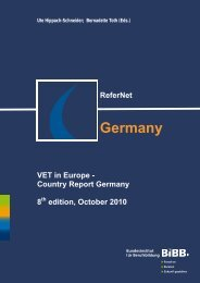 Germany Country Report 2010 - ReferNet