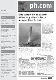 ph.com june04 (b&w)2.qxp - UK Faculty of Public Health