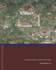 2007 ICT Annual Report - International Campaign for Tibet