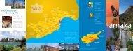 Larnaka depliant - ente nazionale per il turismo di cipro